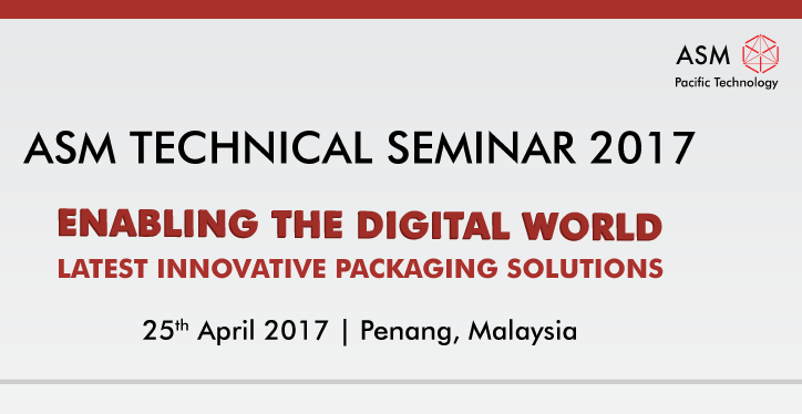 ASM Technical Seminar Penang